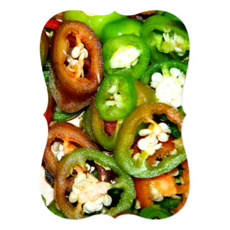 Colorful Jalapeno Pepper Slices Announcements