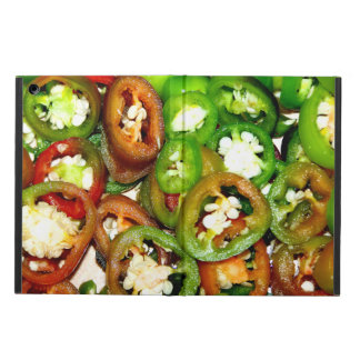 Colorful Jalapeno Pepper Slices Cover For iPad Air