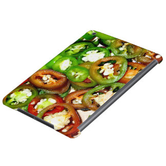 Colorful Jalapeno Pepper Slices Case For iPad Air