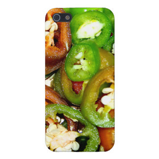 Colorful Jalapeno Pepper Slices Case For iPhone 5