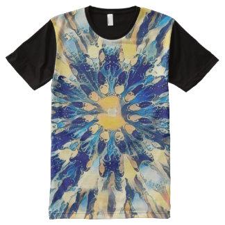 Colorful Japanese Water Mandala All-Over-Print Shirt