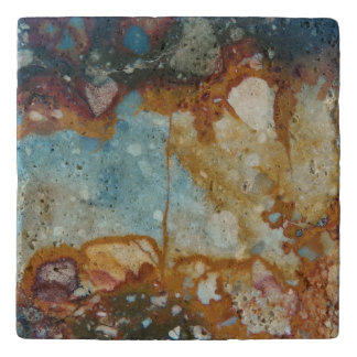 Colorful Jasper Stone Trivet