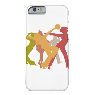 Colorful Jazz Dancers Barely There iPhone 6 Case