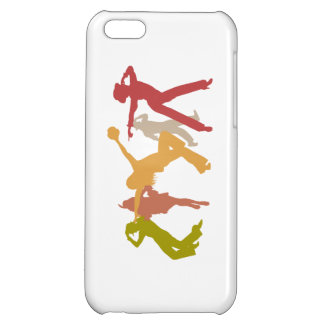 Colorful Jazz Dancers Case For iPhone 5C