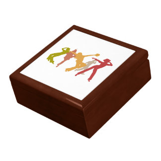 Colorful Jazz Dancers Gift Box