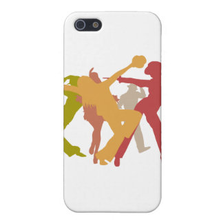 Colorful Jazz Dancers iPhone SE/5/5s Cover