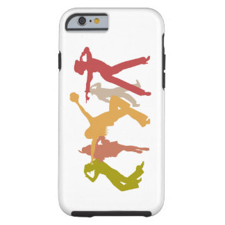 Colorful Jazz Dancers Tough iPhone 6 Case