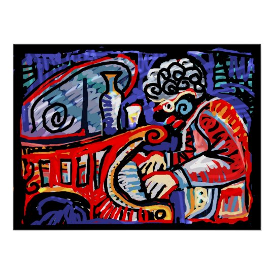 *Colorful Jazz* Poster