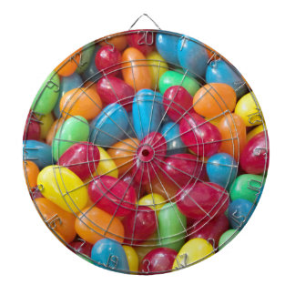 Colorful Jelly Beans Dartboard