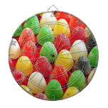 Colorful jelly candy print dartboards