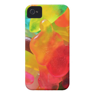 colorful jelly gum texture iPhone 4 Case-Mate case