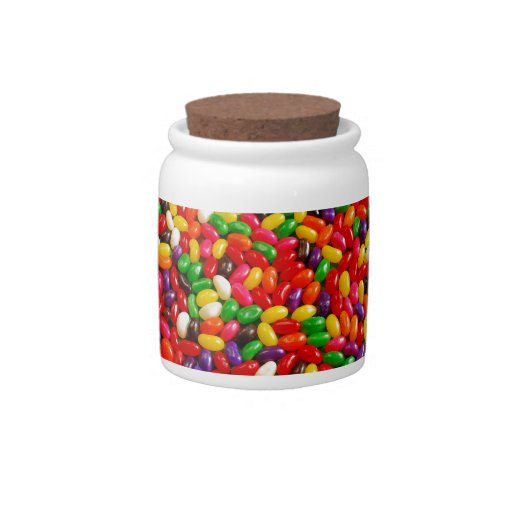 Colorful jellybean candy candy dishes