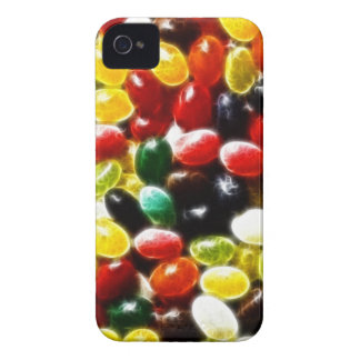 Colorful Jellybean Fractal iPhone 4 Cover
