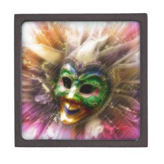 Colorful Jester Premium Keepsake Box