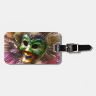 Colorful Jester Travel Bag Tag