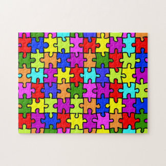 'Colorful jigsaw puzzle' puzzle