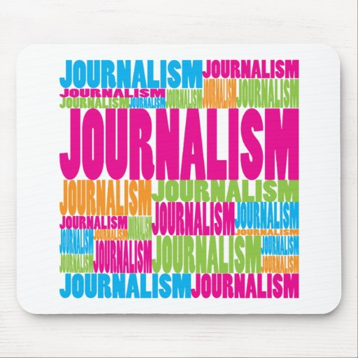 Colorful Journalism Mouse Mat