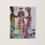 Colorful Jumbies Jigsaw Puzzle