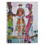 Colorful Jumbies Spiral Note Books