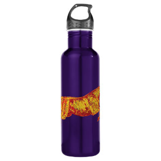 Colorful Jumping Horse 24oz Water Bottle