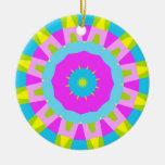 Colorful Kaleidoscope 014 Christmas Ornament