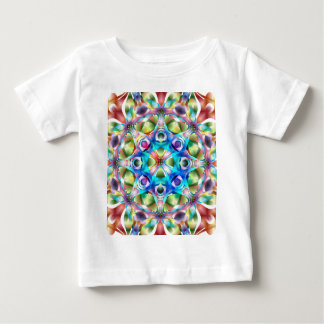 Colorful Kaleidoscope Baby T-Shirt