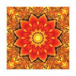 Colorful kaleidoscope canvas print