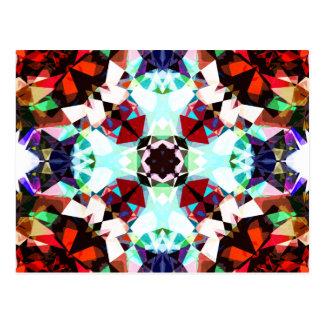 Colorful Kaleidoscope Creation Postcard