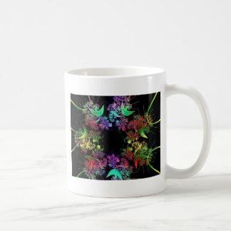 Colorful Kaleidoscope Design Fractal Art Gifts Mug