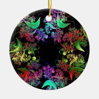 Colorful Kaleidoscope Design Fractal Art Gifts Ornament