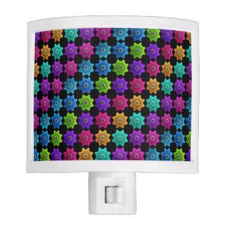 Colorful Kaleidoscope Design Night Light
