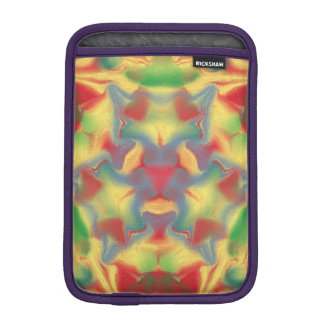 Colorful kaleidoscope iPad mini sleeve