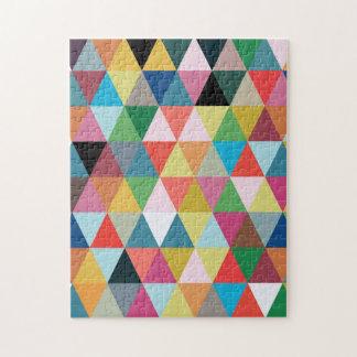 Colorful Kaleidoscope Patterned Jigsaw Puzzle