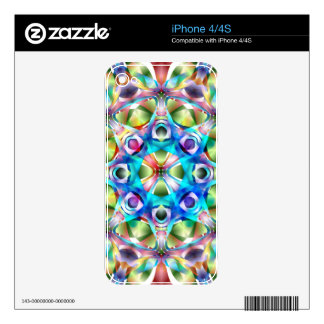 Colorful Kaleidoscope Decals For The iPhone 4
