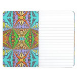 colorful kaleidoscopic pattern journals