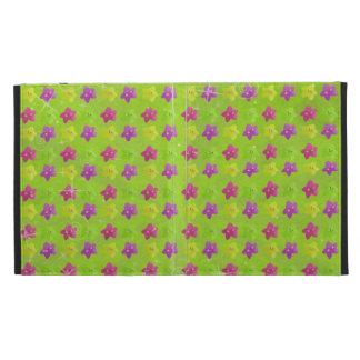 Colorful Kawaii Stars iPad Folio Cases