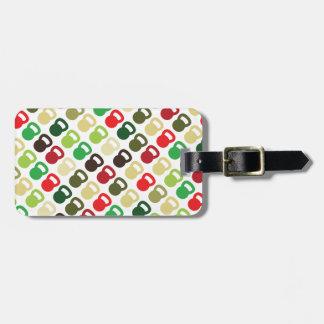 Colorful Kettlebells For Bag Tag