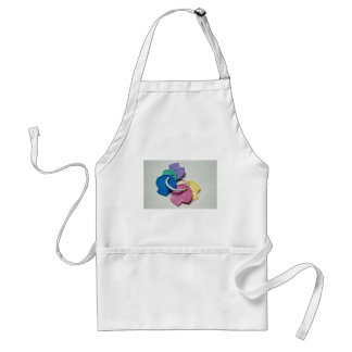 Colorful Key teethers toy for children Apron