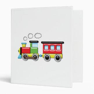 Colorful Kid;s Locomotive & Caboose Binder