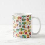 Colorful Kids Robot Classic White Coffee Mug
