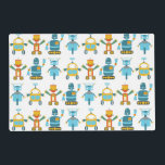"""Colorful Kids Robot Placemat<br><div class=""""desc"""">This is an awesome robot gift that makes the perfect gift.</div>"""