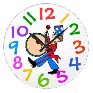 Large Numbers Wall Clocks Zazzle