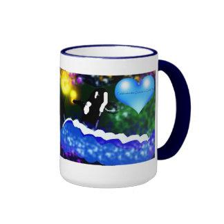 Colorful Killer whale earth day mug