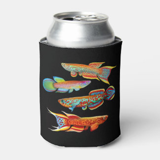 Colorful Killifish Can Cooler