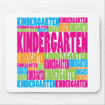 Colorful Kindergarten Mouse Pads