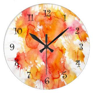 Colorful Kitchen Wall Clocks