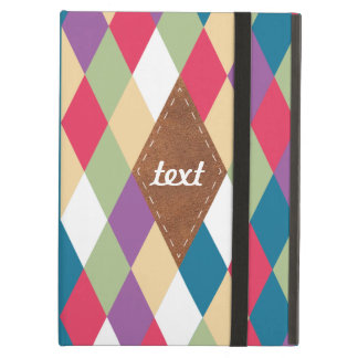 colorful kite pattern cover for iPad air