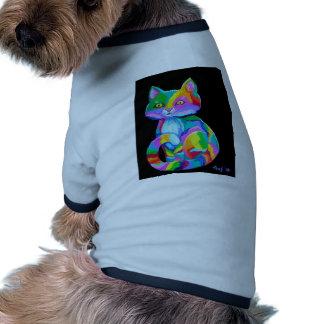 Colorful Kitten Doggie Tee