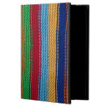 Colorful knitted stripes case for iPad air