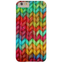 Colorful Knitters Yarn Barely There iPhone 6 Plus Case